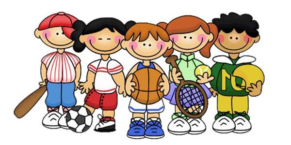 Image result for cartoon kids pe