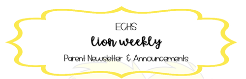 Lion Weekly Parent Newsletter & Announcements