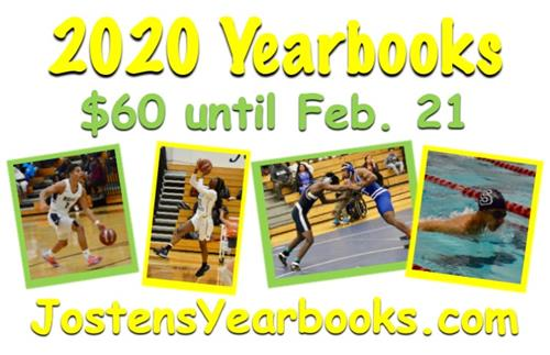 60$ Yearbooks until Feb. 21st
