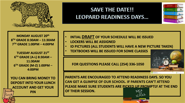 Readiness Day Flyer