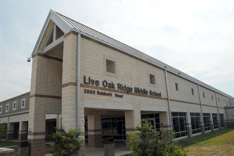 Live Oak Ridge Middle School / Homepage